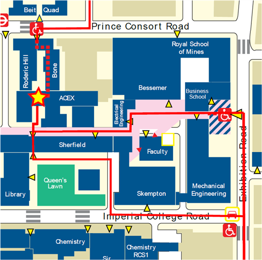 South Kensington Campus Map